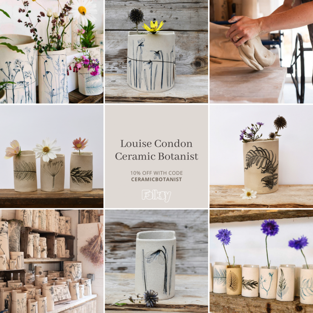 Discount offer for Louise Condon Ceramic Botanist