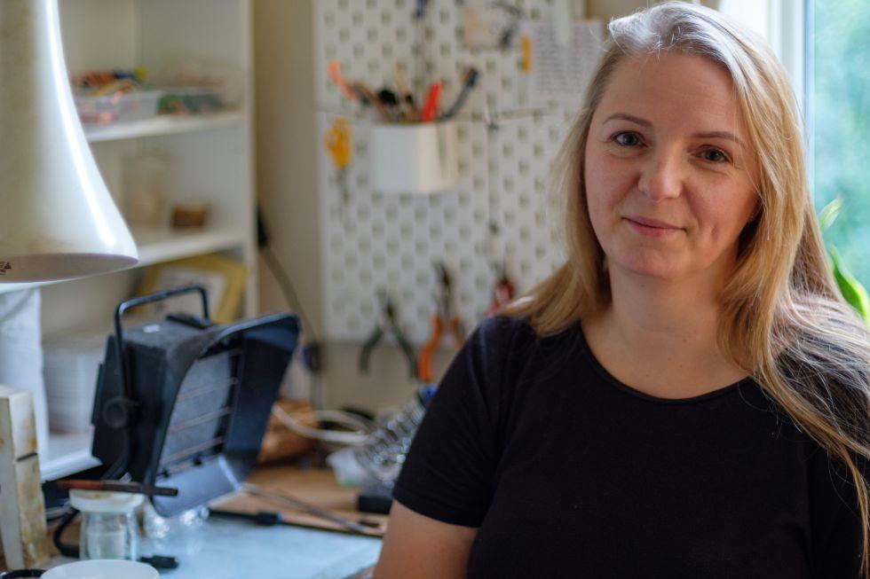 Kat Jurczenko from Glass and Light Studio